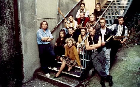 The original cast of The Commitments